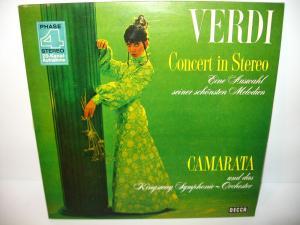 VERDI - Concert in Stereo (Camarta) Schallplatte LP DECCA (WR8)