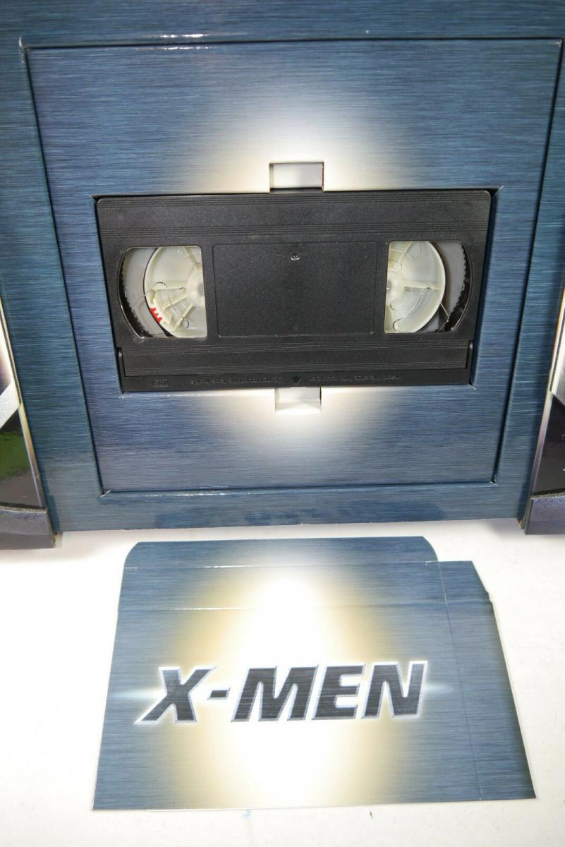 Marvel X-MEN Pressemappe Presse Set mit VHS Kassette ( nur Trailer ) (MF14) 3