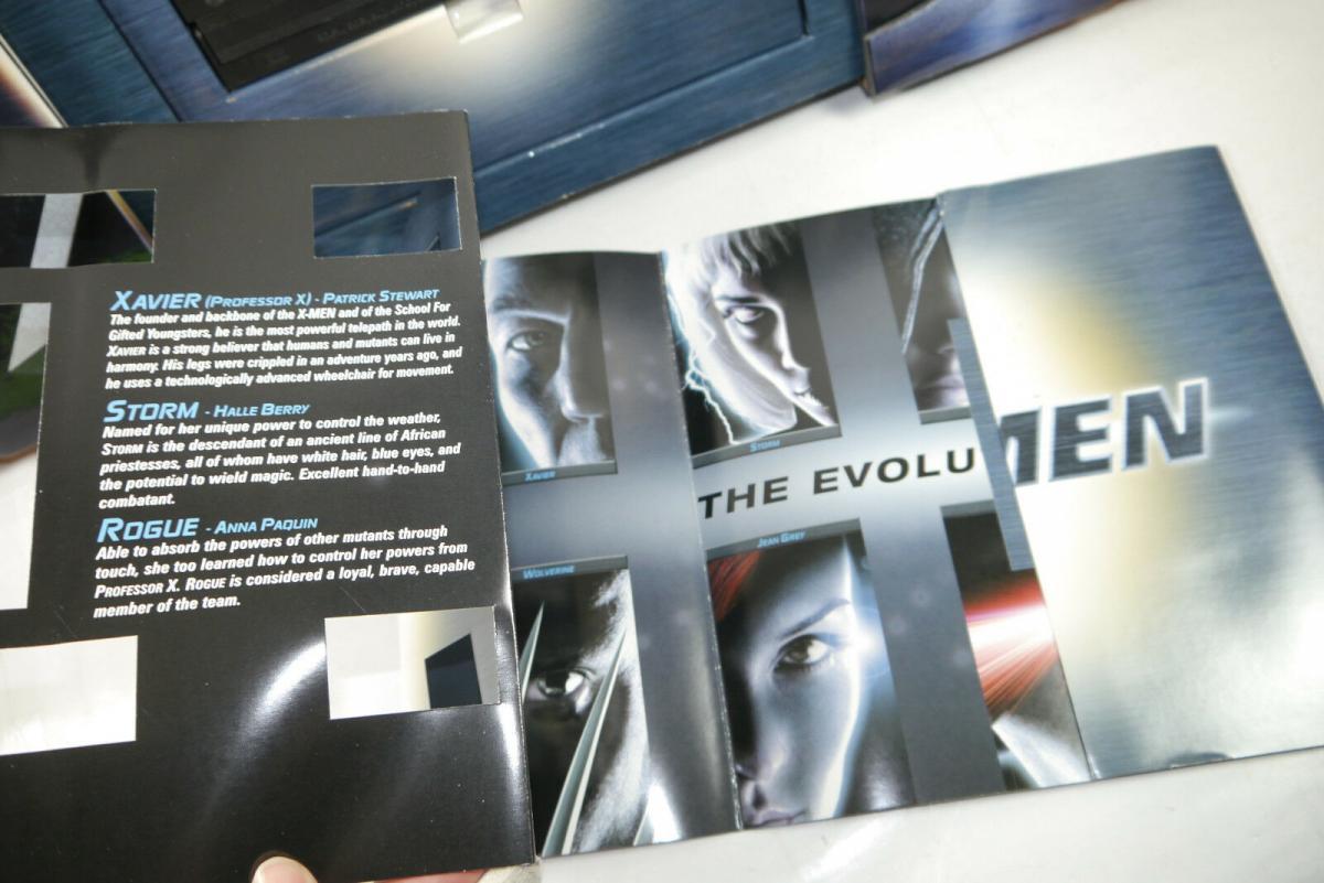 Marvel X-MEN Pressemappe Presse Set mit VHS Kassette ( nur Trailer ) (MF14) 4