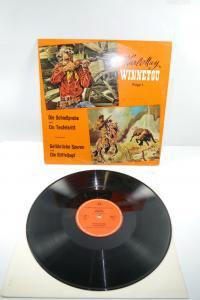 Karl May Winnetou Folge 1 Schießprobe Teufelsritt  Schallplatte  LP  tempo (WR1)