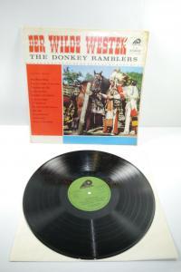 Der Wilde Westen The Donkey Ramblers  Schallplatte  LP      (WR1)