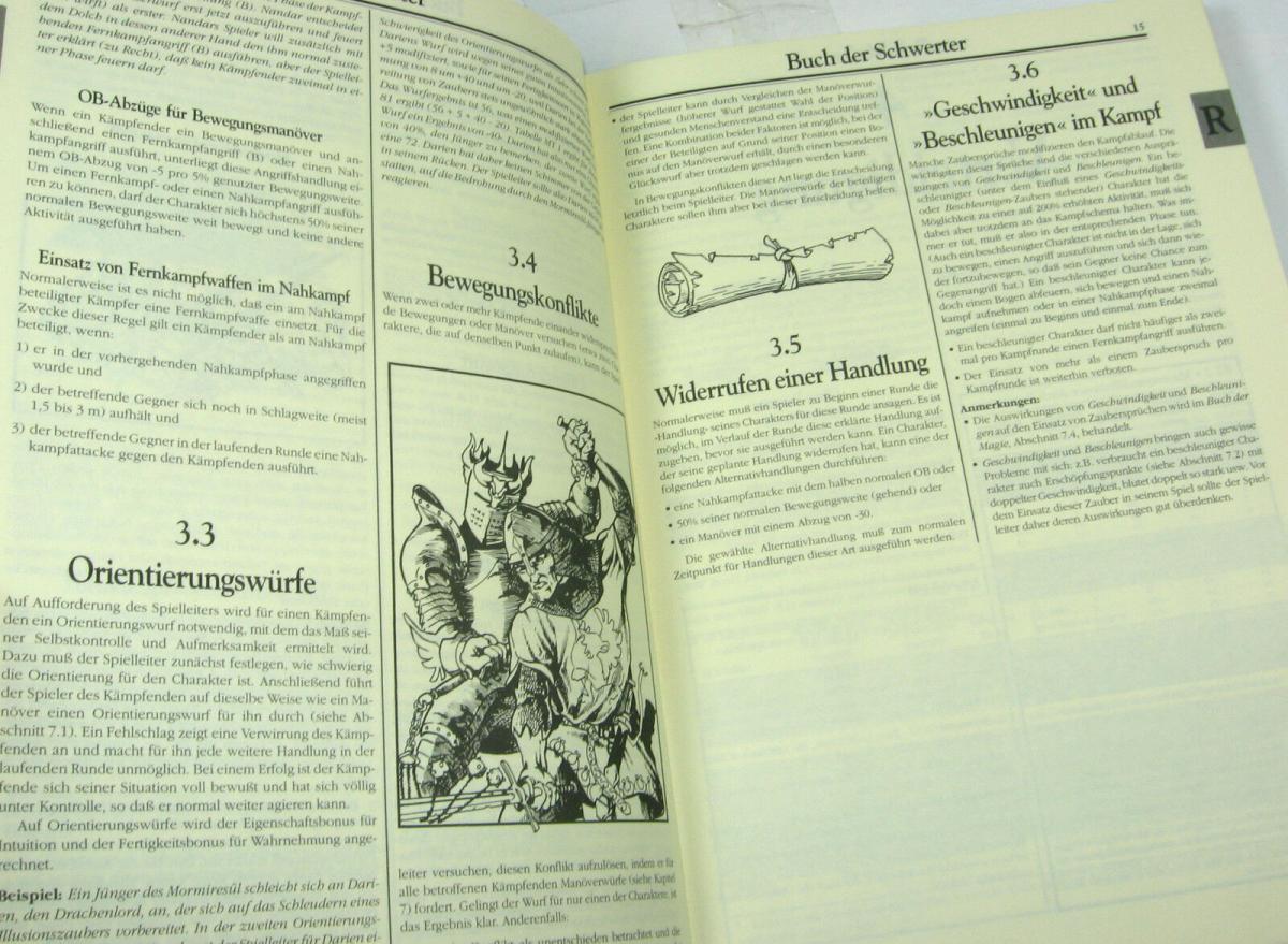 ROLE MASTER Buch der Schwerter 4.Auflage ROLLENSPIEL Tabletop QUEEN GAMES (B1) 2
