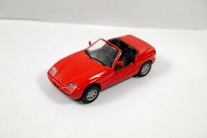 SCHABAK 1160 BMW Z1 Cabrio rot red Metall Modellauto 1:43 (K33) #10