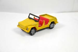 SIKU 1032 / 1332 VW 181 Jeep gelb yellow Metall Modellauto ca.7cm (K21) #12
