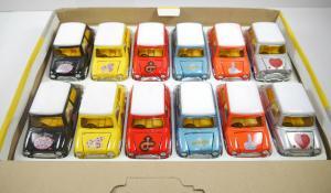 MINI COOPER TC-38812- 12 Autos Rückziehfunktion in Verkaufsdisplay TAI CHEONG F4