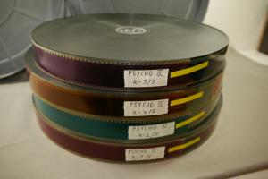 PSYCHO III  35mm 4 Filmrollen von 5  Rollen sehr gut 1986 Anthony Perkins F14