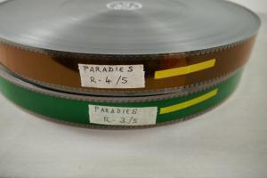 Paradies 1986 35mm 2 Filmrolle von 5 Kino Film Doris Dörrie Heiner Lauterbach F8
