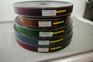 Hochzeitsnacht im Geisterschloß 35mm 5 Filmrolle komplett  Kino Gene Wilder  F9