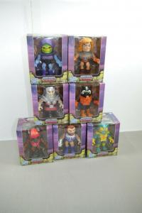 MASTERS OF THE UNIVERSE 7 Figuren Set Action Vinyls Mattel NEU OVP (L)