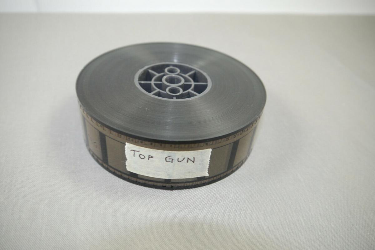 Top Gun Sie fürchten weder Tod noch Teufel Kino Trailer 35mm Tom Cruise  (K30) 0