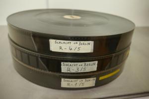 Schlacht um Berlin  35mm 3 Filmrolle von 5  Kino Film 1973 Chronos -Film  WR3