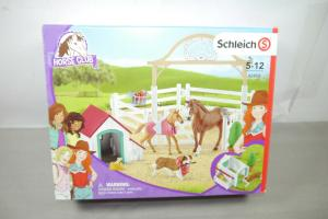 Schleich Horse Club 42458 Pferde Hund Zubehör  NEU (K57)