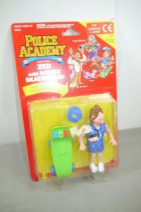 Police Academy  Figur  Serie 1 Zed and Police Skateboard  KENNER OVP (L)