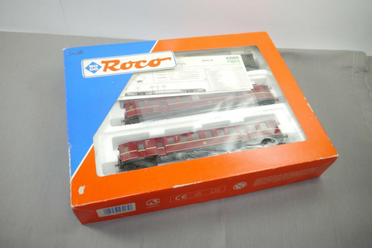 ROCO  43065 Elektro Triebzug ET85 rot DB mit  OVP H0 1:87 (WR5) 0