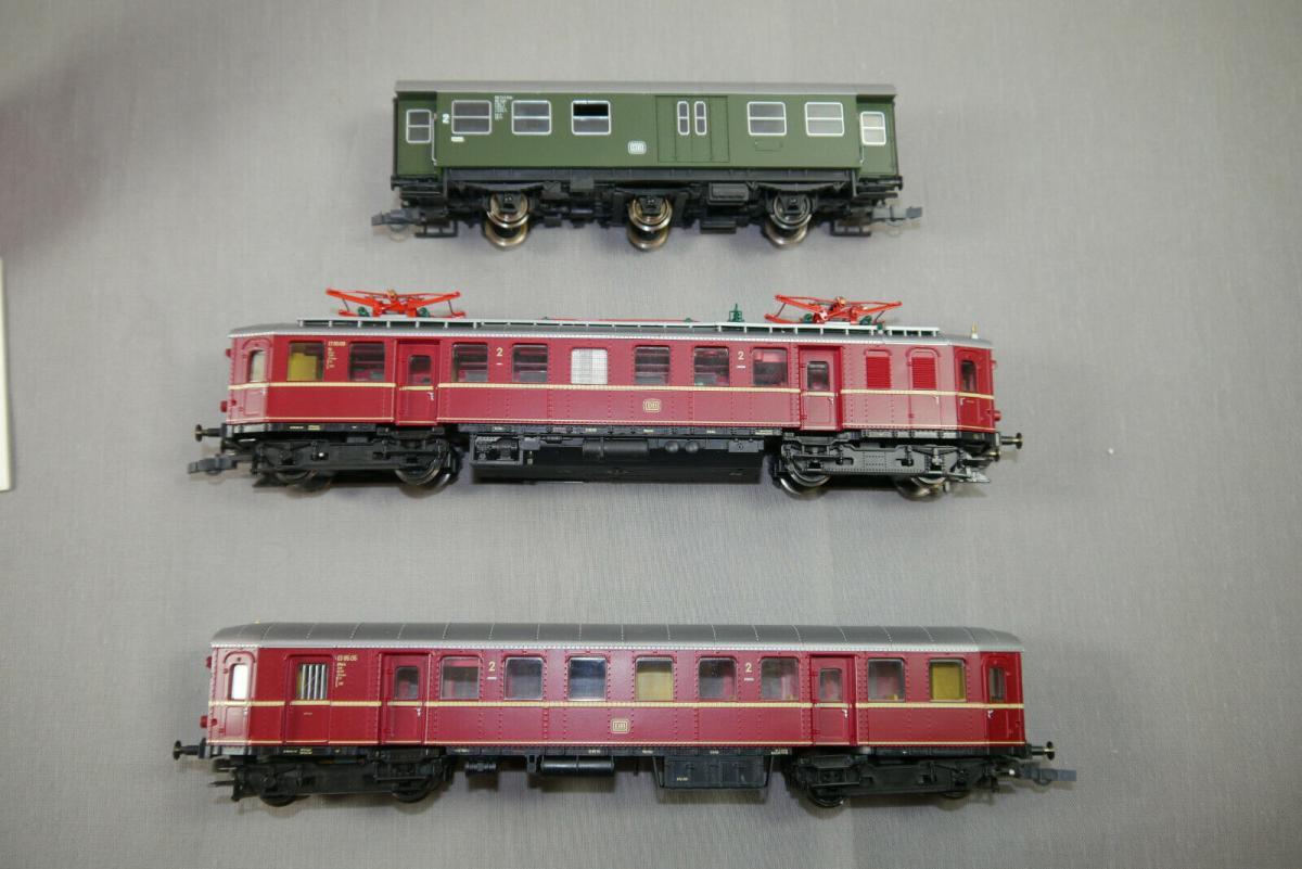 ROCO  43065 Elektro Triebzug ET85 rot DB mit  OVP H0 1:87 (WR5) 2