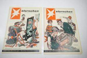 Das Sternchen Beilage zum Stern 2  Hefte von 1959  Zustand : 2   (WR4)