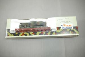 ROCO Special 809  Güterwagen Rungenwagen beladen mit 4-Achser Neu  H0 1:87 (K87)