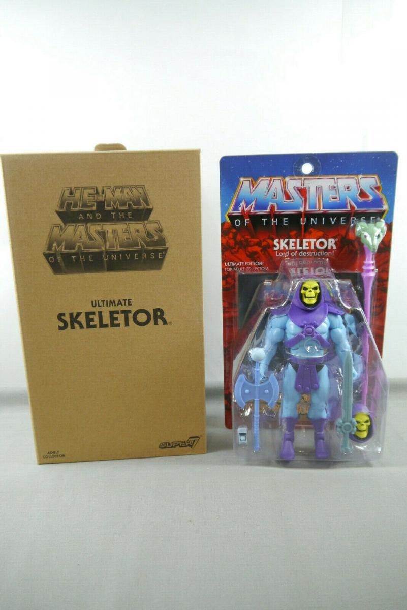 MASTERS OF THE UNIVERSE Skeletor Classic Club Wave 3  SUPER 7 18 cm (KA3)* 1
