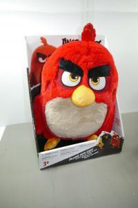 Angry Bird Red Plüschtier Kissen mit leuchtenden Augen ca. 30cm NEU (WA4)