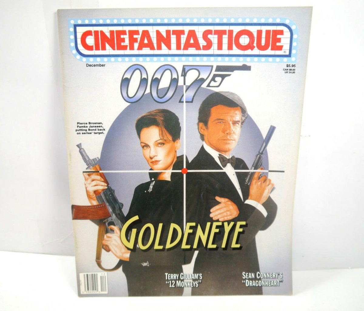 CINEFANTASTIQUE Vol. 27 Nr. 3 Film Magazin Zeitschrift JAMES BOND englisch (WR6) 0