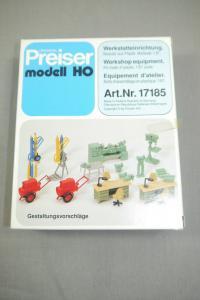 Preiser modell 17185 Werkstatteinrichtung H0 (K24)