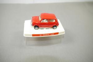 Guisval  N 16 Mini Morris 1000 rot  Metall Modellauto (K21)