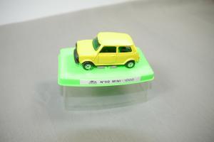 Guisval  N 98 Mini Cooper - 1000 gelb   Metall Modellauto (K21)