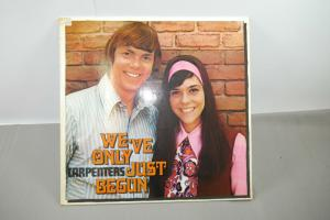 Carpenters We´ve only just begun  Schallplatte  LP sehr gut    (WR1)