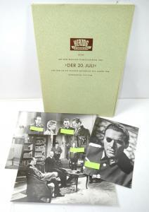 Pressemappe DER 20. JULI Filmfestspiele Berlinale 1955 / Preiss Düringer (B2)