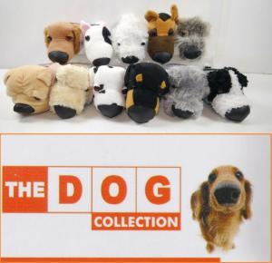 DOG COLLECTION 11er Stofftier plush Set Dalmatiner Collie Pudel EAGLEMOSS (K17)