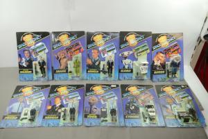 Space Precinct  2040 10 Figuren Set  Garry Anderson´s Vivid OVP 1994 (L)