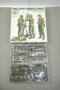 Tamiya Military Miniatures U.S.107mm Mortar & Crew 1:35 (K23)