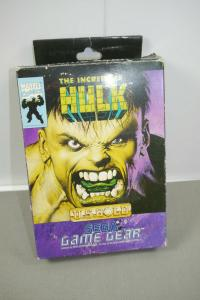 SEGA  The Incredible HULK US Gold Game Spiel mit OVP (K33)
