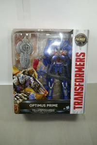 TRANSFORMERS Last Knight - Optimus Prime Actionfigur PREMIER EDITION Neu (L)