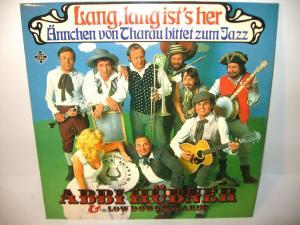 ABBI HÜBNER & LOW DOWN WIZARDS   Lang, lang ist's her Schallplatte LP (WR8)