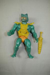 MASTERS OF THE UNIVERSE Motu Mer Men  Actionfigur MATTEL 1981 (L)