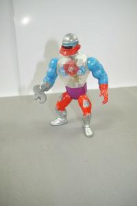 MASTERS OF THE UNIVERSE Motu Roboto  Actionfigur MATTEL 1984 (L)