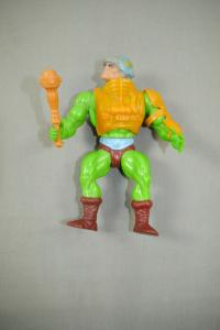 MASTERS OF THE UNIVERSE Motu Man-at-Arms Actionfigur 1981 MATTEL (L)