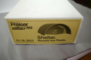Preiser military Shelter 2622  Modellbausatz H0 (MF22)