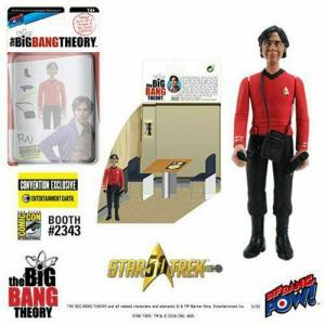 THE BIG BANG THEORY Raj TOS EE Exclusive Star Trek Actionfigur BIF BANG (KB20)*