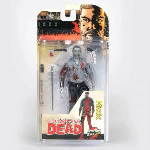 THE WALKING DEAD Skybound Exclusive - Rick b/w Actionfigur McFarlane (L)