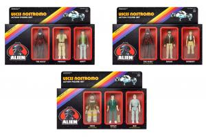 ALIEN 3 Sets USCSS Nostromo Actionfigur ReACTION SUPER 7 Ripley Ash NEU (KB12)*