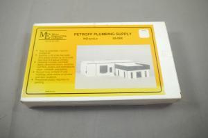 Micro Engineering Company Petroff Plumbing Supply Modellbausatz Spur H0  ( K17)