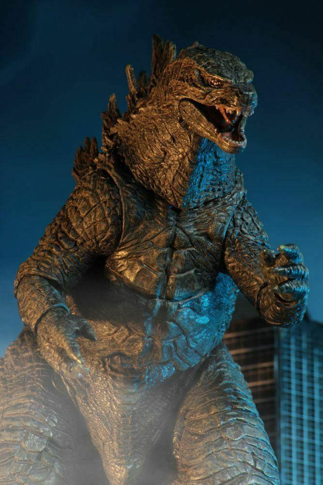Godzilla King of the Monsters 2019 Head to Tail Actionfigur 30cm Neca Neu (KA8)* 2