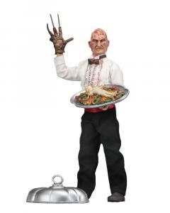 NIGHTMARE ON ELM STREET Retro : Chef Freddy Krueger Actionfigur NECA Neu (KB15)*