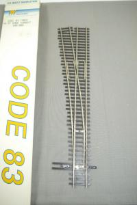 Walthers Code 83 Track #6 RT  Hand Turnout 948-804 Weiche H0 in Box K91F