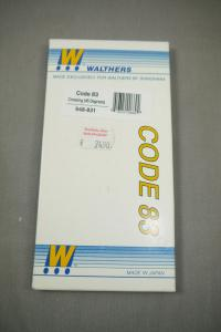 Walthers Shinohara Code 83Crossing (45Degrees) 948-831 Weiche H0 in Box K91C