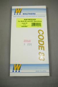Walthers Shinohara Code 83 #2 Wye 948-8887 Weiche H0 in Box K91B