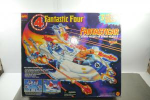 Marvel  4 Fantastic Four Fantasticar Space Vehicle  mit Box ToyBiz  ( F13)