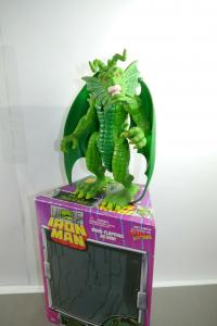 Marvel Iron Man Fin Fang Foom mit Box   ToyBiz  ( F13)